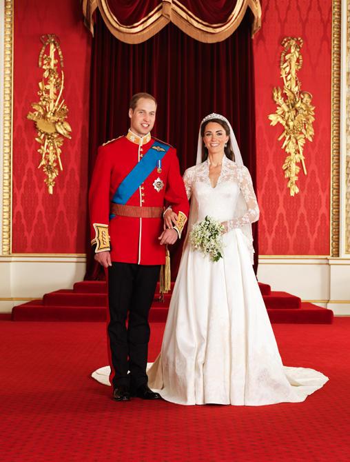 Prince William, Kate Middleton Portrait