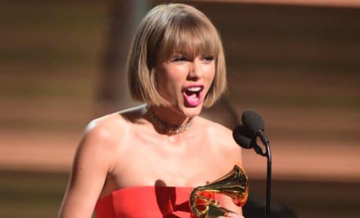 Taylor at the Grammy Awards