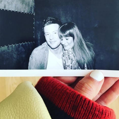 Lea Michele Posts Tribute to Cory Monteith, Four Years ...