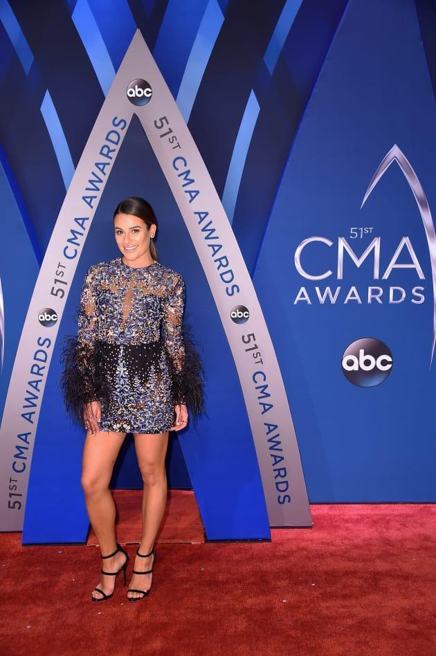Lea Michele at CMAs