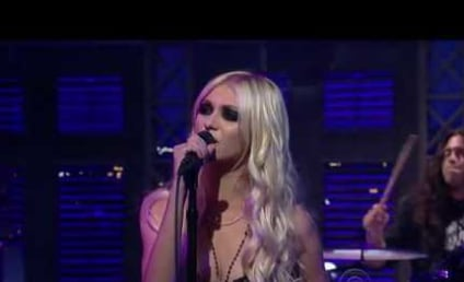 Taylor Momsen: Pretty Reckless on Late Show