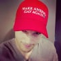 Ashton Kutcher, Make America Gay Again Hat