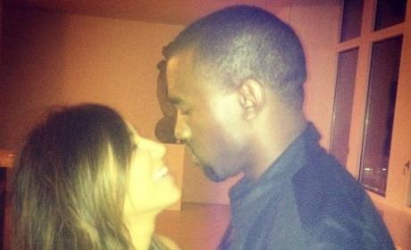 Kim Kardashian and BF