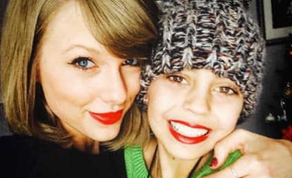 Taylor Swift Stuns Cancer Patient: See the Sweet Pics!