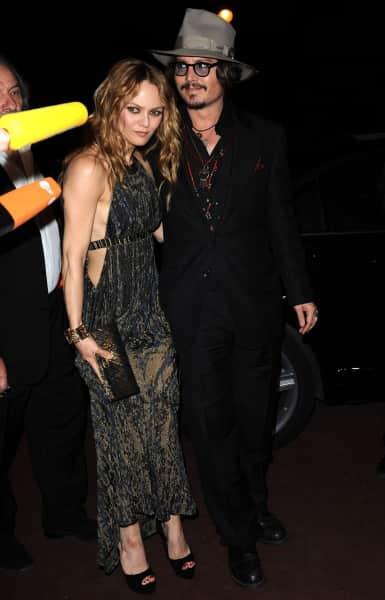 Johnny Depp and Vanessa Paradis Pic