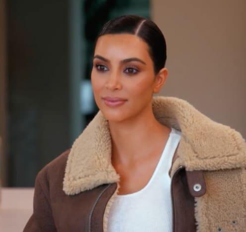 Kim Kardashian Listens