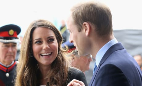 Pregnant Kate and Prince William