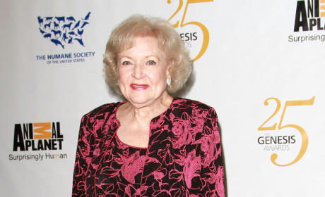 Betty White Photograph