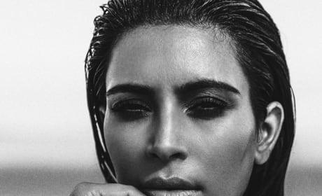 Kim Kardashian for C Magazine