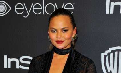 Chrissy Teigen Gets Drunk, Tweets Photo of Stretch Marks
