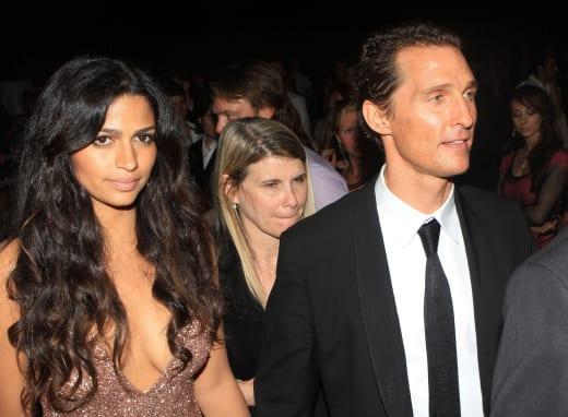 Matthew McConaughey and Camila Alves Photograph