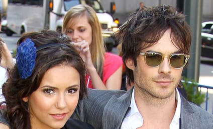 Ian Somerhalder and Nina Dobrev Reunite … For Dog's Birth