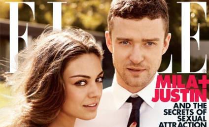 Justin Timberlake, Mila Kunis Heat Up Elle
