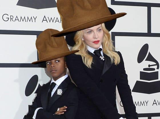 Madonna in Pharrell's Hat