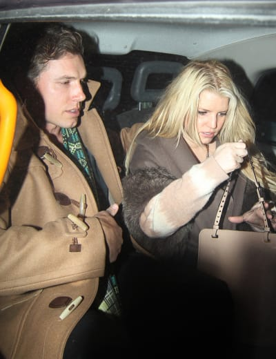 Jessica Simpson, Fiance Eric Johnson