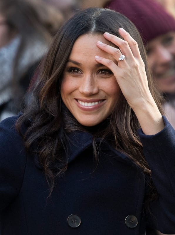Meghan markle and her ring