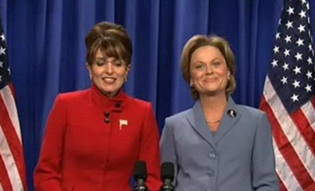 Sarah Palin and Hillary Clinton