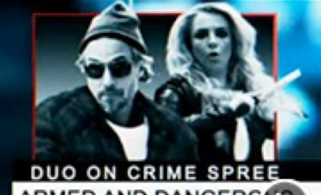 Jason Trawick and Britney Spears Music Video Pic