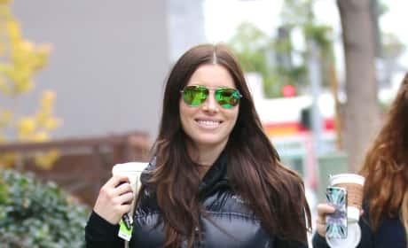 Jessica Biel Walking