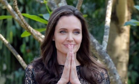 Angelina Jolie in Cambodia