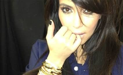 "Kim Kardashian Flashes Expensive Bling from ""The Don"""