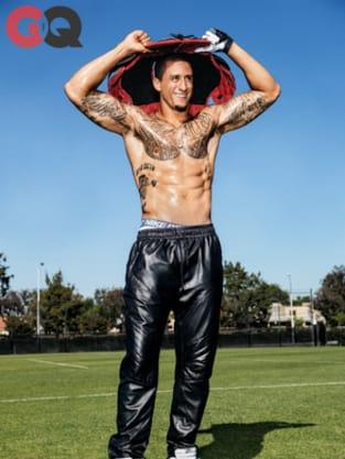 Colin Kaepernick Shirtless Photo