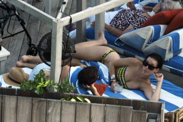 Katy Perry on Vacation