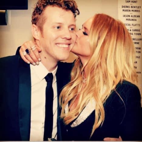 Miranda Lambert Kisses Anderson East