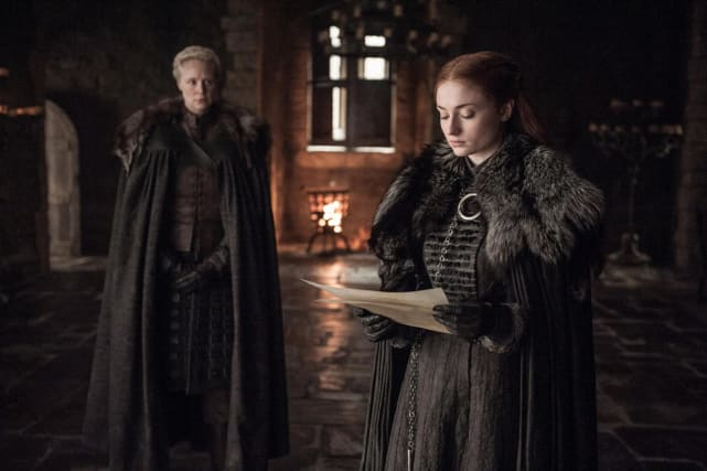 Sansa and brienne get down to business
