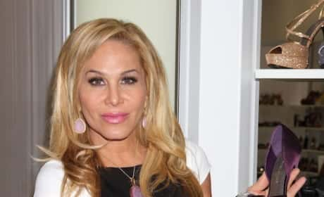 Adrienne Maloof and a Shoe