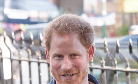 Prince Harry in Blue