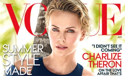 Charlize Theron Sizzles in Vogue, Talks Sean Penn