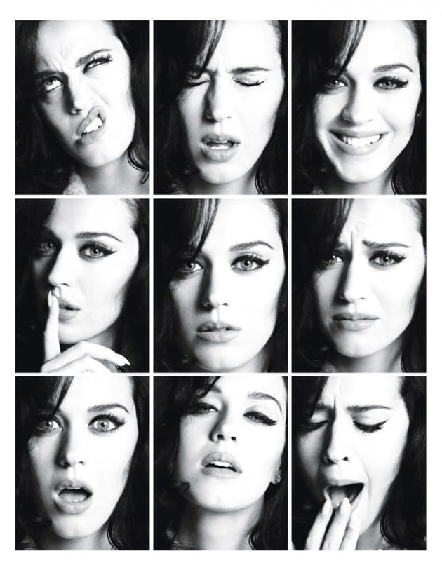 Katy Perry Faces