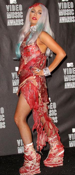 Gaga Meat Dress