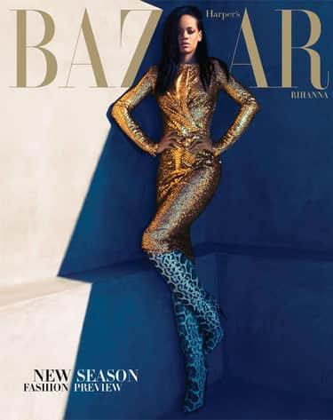Rihanna Harper's Bazaar Cover