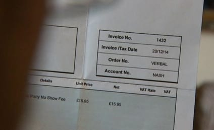 Five-Year-Old Boy Invoiced For Birthday Party No-Show