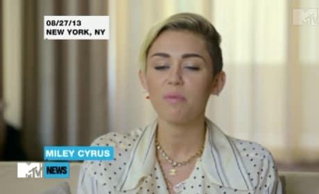 Miley Cyrus Speaks on VMA Performance