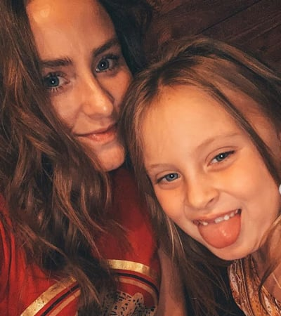 Leah Messer and a Daughter
