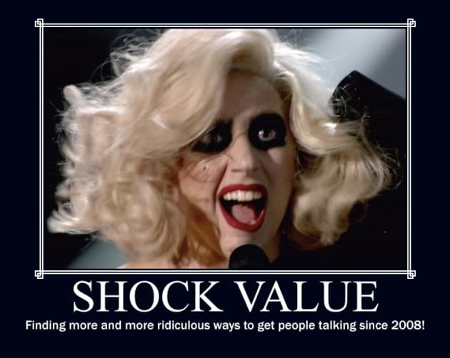 Lady Gaga Motivational Poster