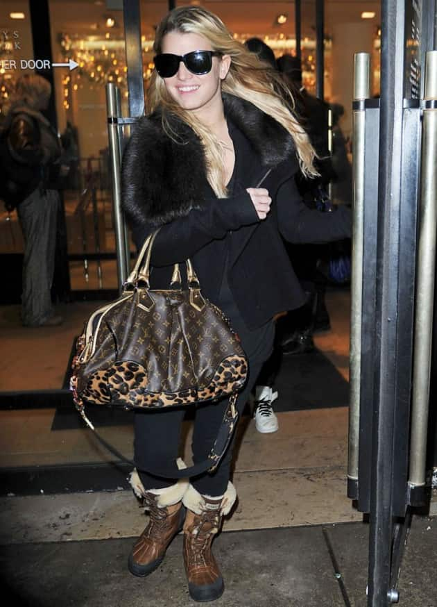 Jessica Simpson Fashion Statement
