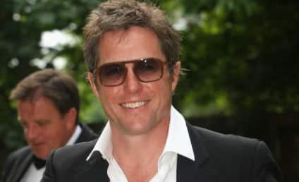 Hugh Grant Knocks Up Anna Elisabet Eberstein, Quietly Produces Third Love Child