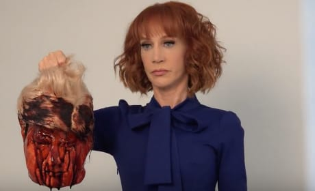 "Kathy Griffin ""Beheads"" Donald Trump, Pisses Off Internet"