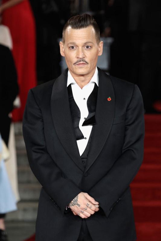 Johnny depp red carpet image