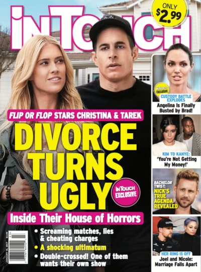 Tarek and Christina El Moussa Tabloid