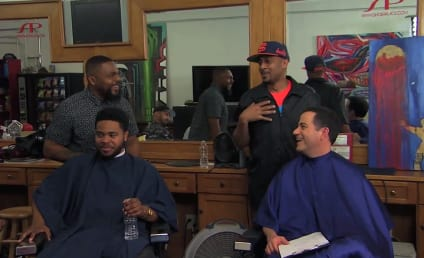 Jimmy Kimmel Gauges Donald Sterling Reaction in Barbershop, Talks Side Chicks and Racism Rehab