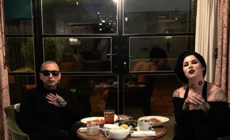 Kat Von D with Rafael Reyes