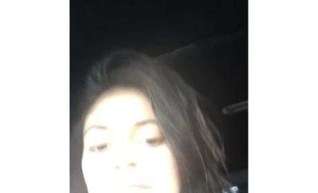 Kylie Jenner Takes Selfie Videos While Driving