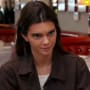 Kendall jenner stares at her mom