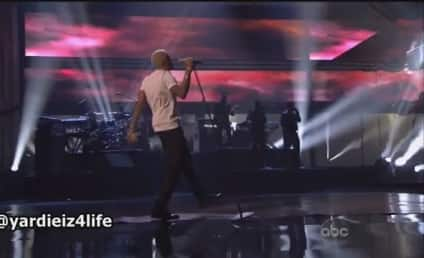 """Chris Brown AMA Performance: Taking it """"All Back"""""""