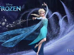 Idina Menzel as Elsa in Frozen